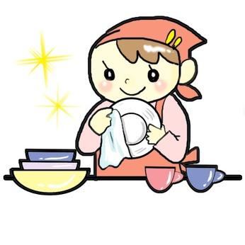 未経験の方も大歓迎「コツコツと作業をするのが得意」そんな方にピッタリ!食器洗浄のお仕事です。