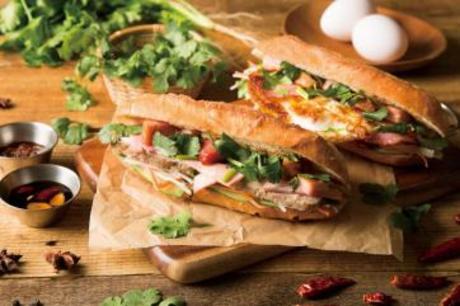 ベトナムのサンドイッチ「バインミー」専門店【販売・製造】横浜駅地下3階の新スタイルフードホール