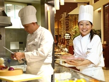 【キッチンスタッフ】大丸梅田でアルバト!大型ビュッフェレストラン 週1&1日4時間~OK・未経験歓迎